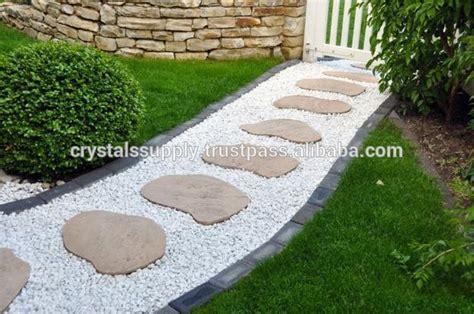 tuinaanleg polishepebbles tuin kiezels voor verkoop vis aquarium wit marmer grind steen