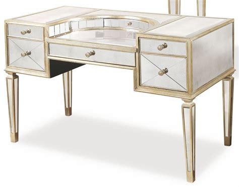 borghese mirrored desk from bassett mirror coleman furniture
