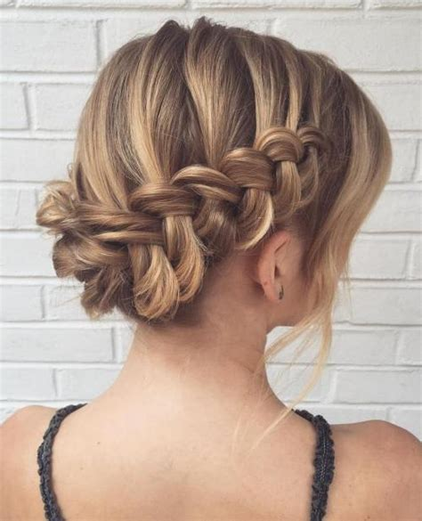 Wedding Hair Waterfall Braid by 60 Updos For Thin Hair That Score Maximum Style Point