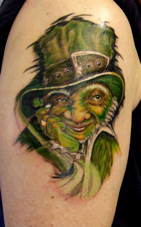 leprechaun tattoos leprechaun tattoos and designs