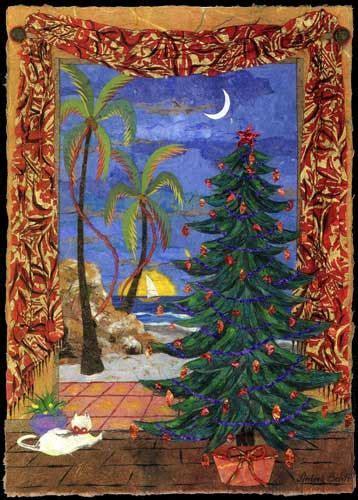 Tropical Xmas. Free Holiday Cheer eCards, Greeting Cards