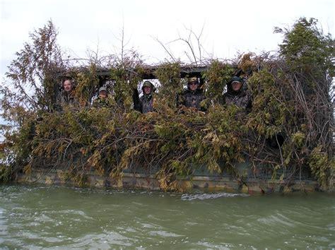 Bow Hunting Blind Plans Floating Pontoon Blind Duck Hunting Pinterest