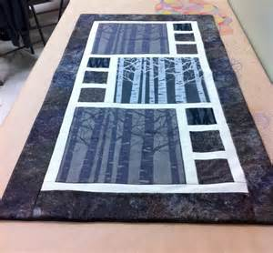 divided by 3 quilt table runner pattern do white applique