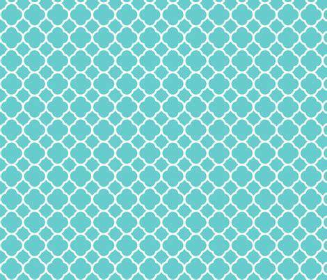 flower pattern eshop turquoise quatrefoil fabric sweetzoeshop spoonflower