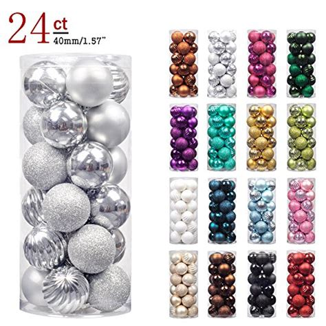 small christmas balls ki store 24ct ornaments shatterproof import it all