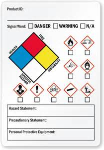 Msds Templates by Ghs Labels Secondary Ghs Labels