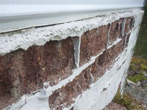 how to fix crumbling basement walls wall crumbling doityourself community forums