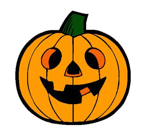 dibujos halloween a color imagui dibujo de calabaza iv pintado por halloween en dibujos net
