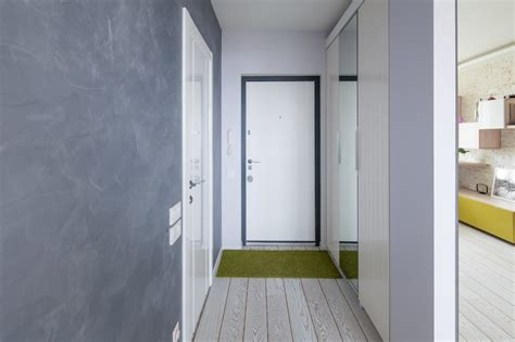 apartment hallway design small apartment gets a fresh new look that suits it like a