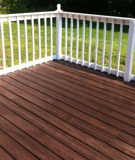 Stain Railing Deck Painting Staining In City