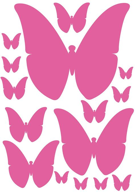 imagenes de mariposas color rosa mariposas para decorar la pared con forma de coraz 243 n