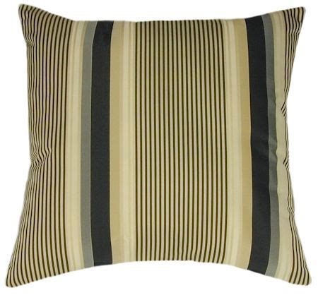 Striped Sofa Pillows by Chagne Stripe Sofa Pillow Toss Pillow Accent Pillow