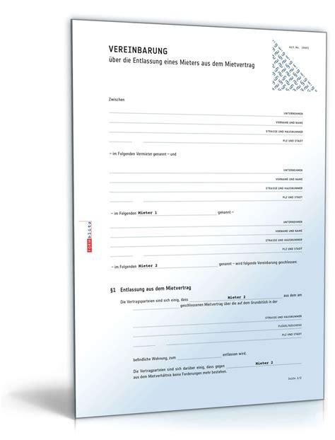 Musterbriefe Zur Abwehr Unberechtigter Forderungen Entlassung Eines Mieters Aus Dem Mietvertrag Muster Zum