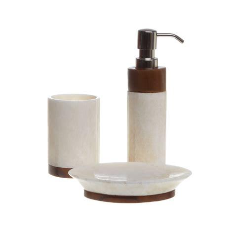 set bagno set bagno onice teak coincasa