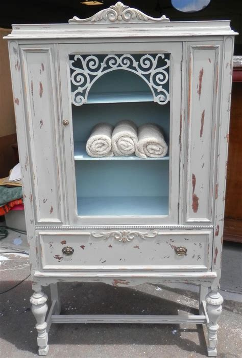 chalk painted antique china cabinet 60 best images about furniture diy paint ideas on