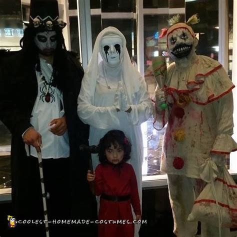 coolest diy costume idea story american horror story family costume