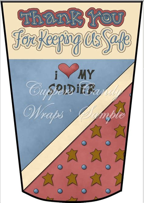thank you for keeping us safe gift card holder latte cup