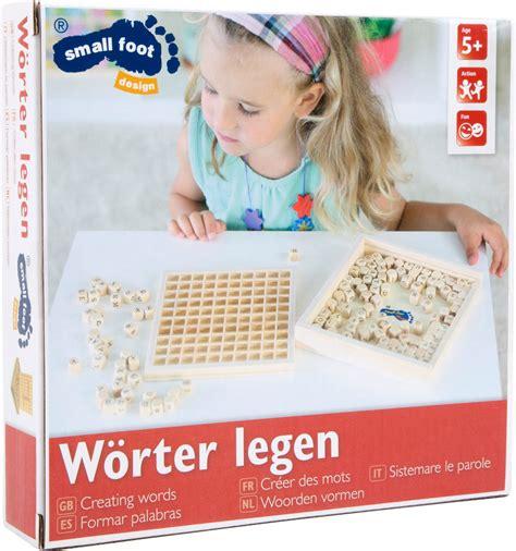 formare parole con queste lettere giochi didattici giocattoli dallo specialista in germania