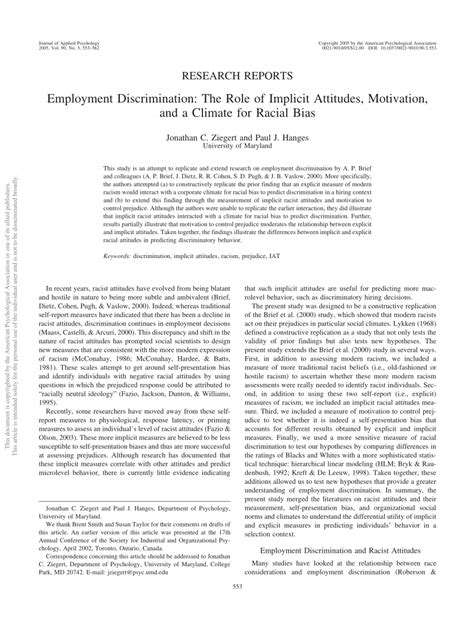 Employment Discrimination Outline by Employment Discrimination Outline Mechanical Engineer Sle Resume Reflective
