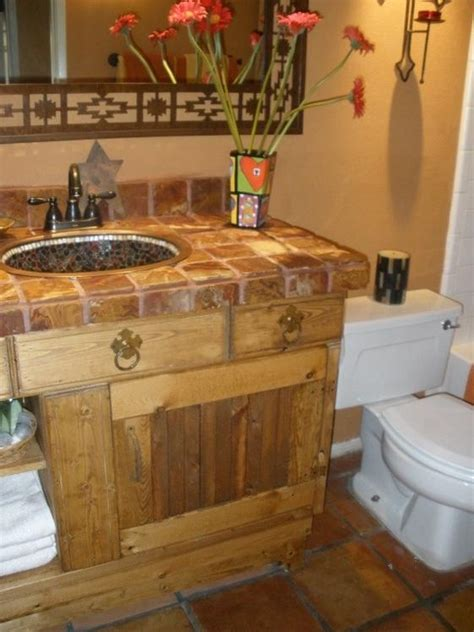 southwest bathroom decorating ideas southwestern bathroom decor bathroom home designing
