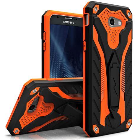 Samsung J3 2015 Jeep Plat Custom samsung galaxy j3 pro static dual layer hybrid cover kickstand black orange