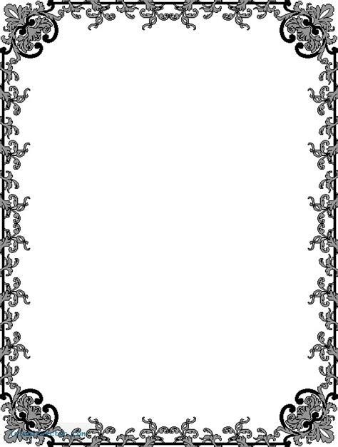 Frame Bingkai Pigura Poster It S Always Impossible A4 border islamic border 409 187 islamic vector