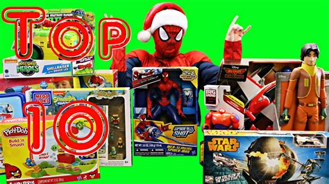 hot christmas gifts age 9 boy spidey picks out his top 10 toys for 2014