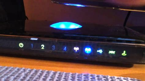 wireless stop and go lights netgear dgnd3300 wireless n router review youtube
