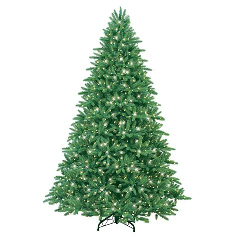 lowes christmas tree lights ge 7 5 ft indoor fir artificial tree with incandescent lights lowe s canada