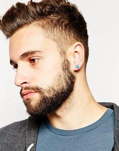 haircuts for guys with earrings how to choose gold appropriate earrings for men diamond