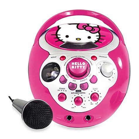 Hello Cd Karaoke System by Buy Hello 174 Cd G Mini Karaoke From Bed Bath Beyond
