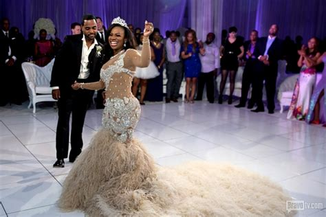 atlanta housewife kandi burruss wedding kandi todd tucker s wedding pictures