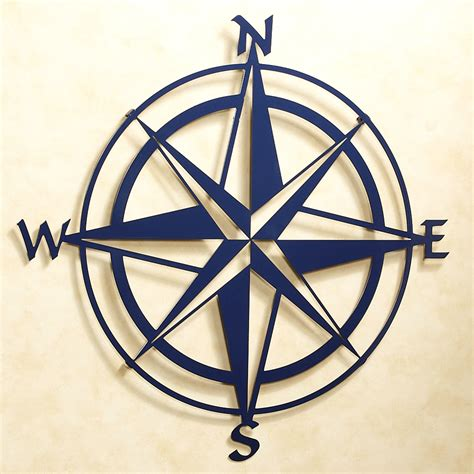Bedding Decorating Ideas by Compass Rose Indoor Outdoor Metal Wall Art