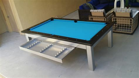 outdoor pool table the outdoor designer pool table