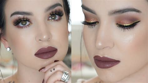 new year makeup gold new years makeup tutorial