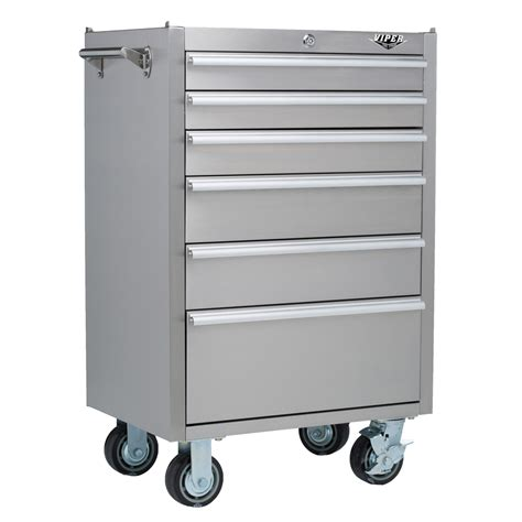 stainless steel tool cabinet viper tool storage v2606ssr stainless steel 6 drawer