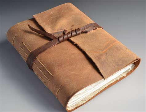 handmade leather journals gallery