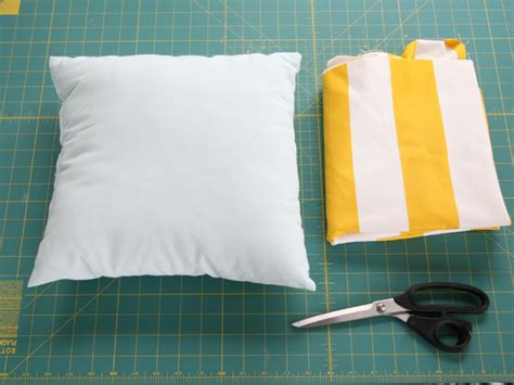 simple pattern for a cushion cover diy simple envelope pillow tutorial step by step with