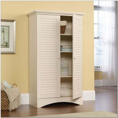 Sauder Cabinet With Doors Cabinet Home Design Ideas