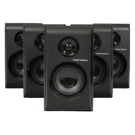 theater solutions 5 1 multimedia powered home theater