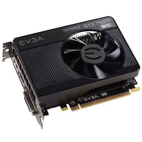 Vga Gtx 750 Evga Asia Products Evga Geforce Gtx 750 Ti Sc 01g