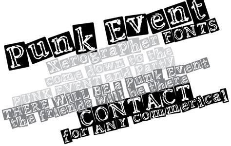 Dafont Punk | punk event font dafont com