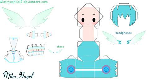 Miku Hatsune Papercraft - miku hatsune papercraft by matryoshka12 on deviantart