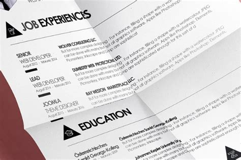 boat cleaner resume print templates free design resources