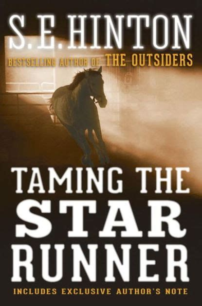 libro the outsiders the new taming the star runner by s e hinton paperback barnes noble 174