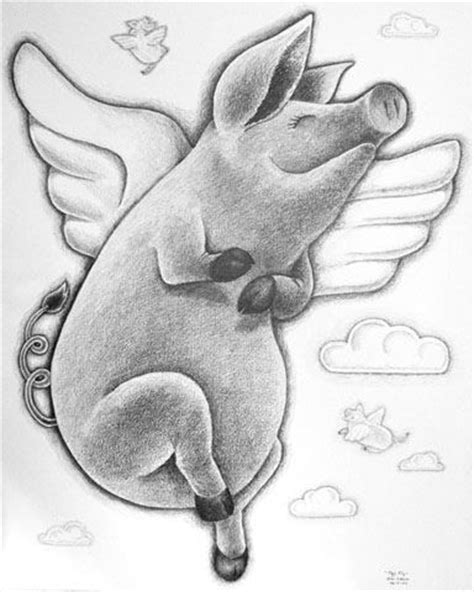25+ best ideas about Flying Pig on Pinterest | Pig pig ... Flying Pig Drawing
