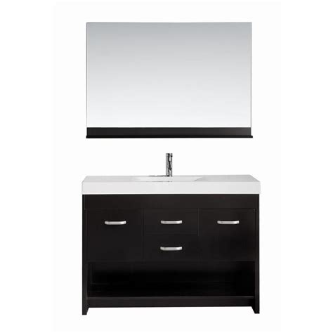 design element citrus design element citrus 48 in w x 18 in d single vanity in