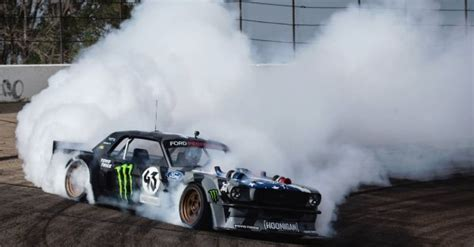 hoonicorn v2 ken blocks ford mustang hoonicorn v2 packs 1400hp with