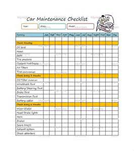 preventative maintenance schedule template maintenance checklist template seasonal home maintenance