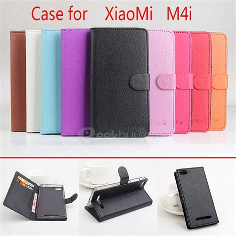 Ume Flip Cover Xiaomi Mi4i Pink protective cover flip stand leather for xiaomi m4i